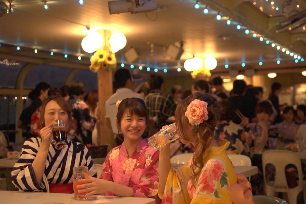 """観光船マリーンシャトルの夏イベント""""サマーナイトクルーズ""""イメージ映像"""