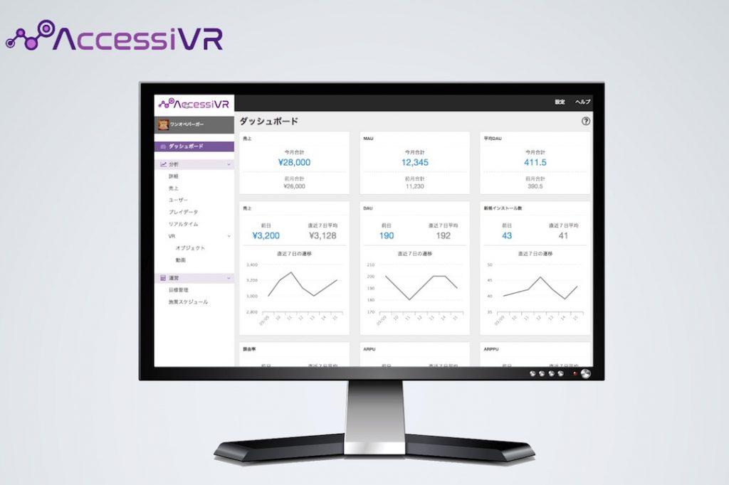 VRプロダクト向けの分析・運用サポートサービス「アクセシブル」紹介動画